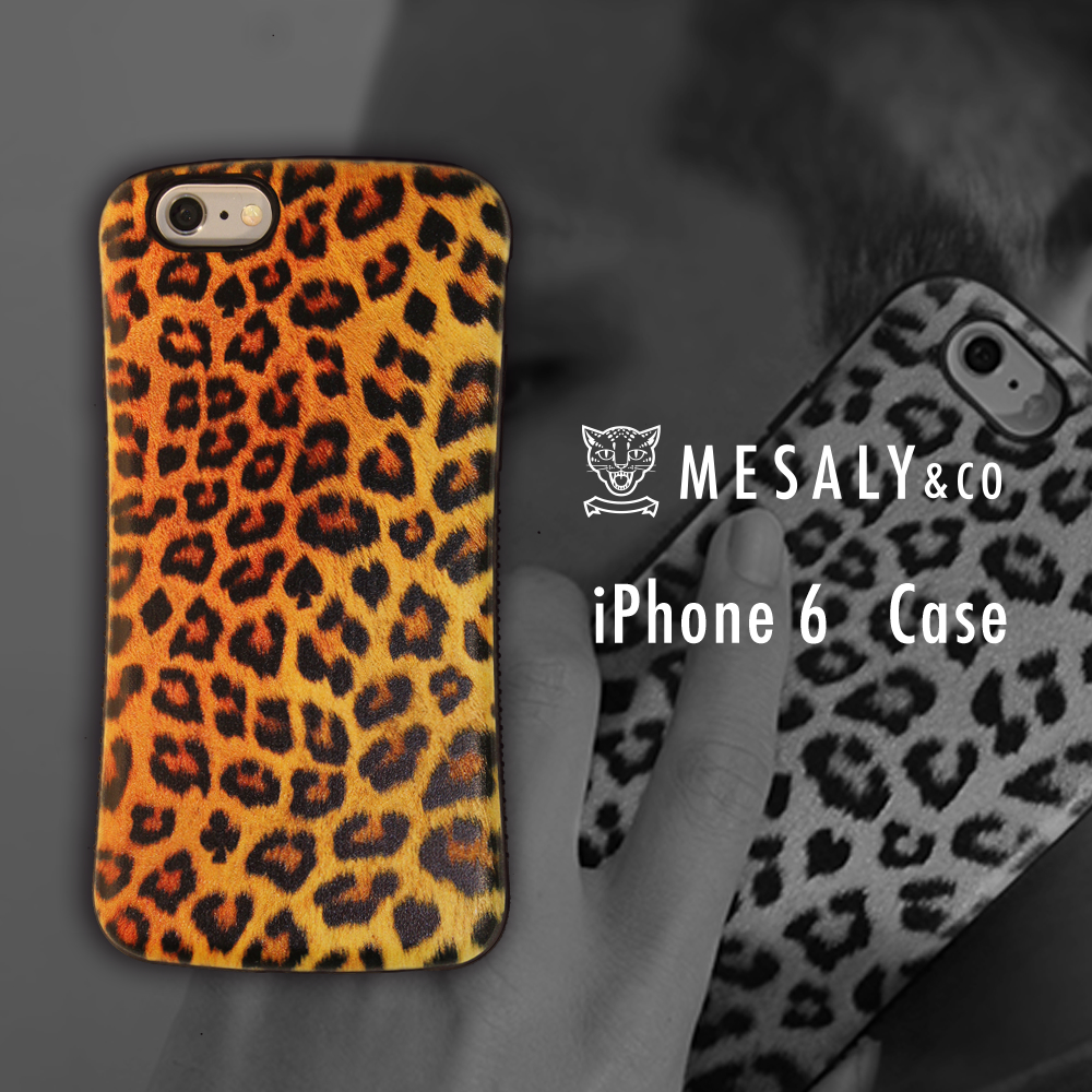 Mesaly & Co iPhone6 case アイフォン6 ケース イエロー 黄色