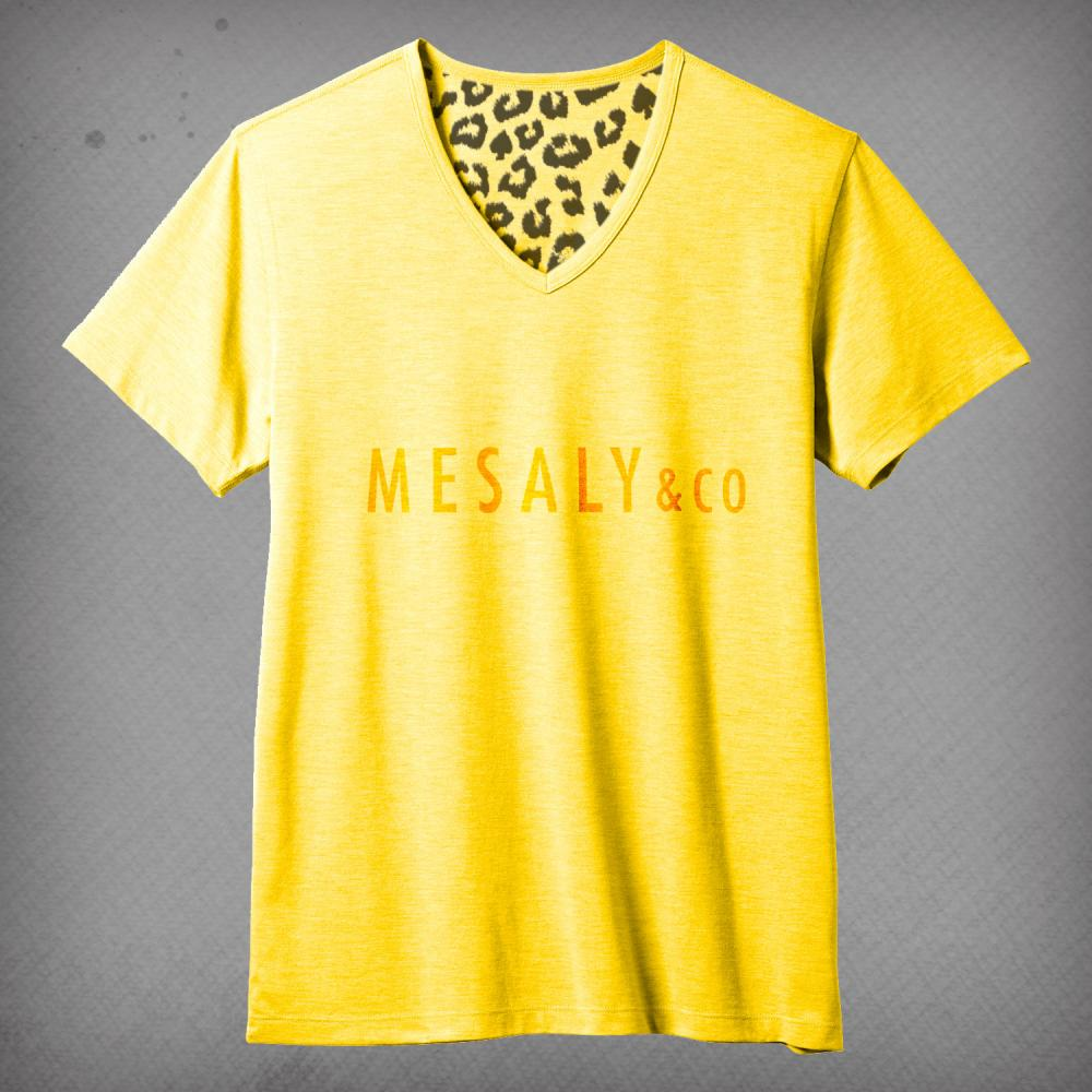 V-Neck T-Shirt Yellow